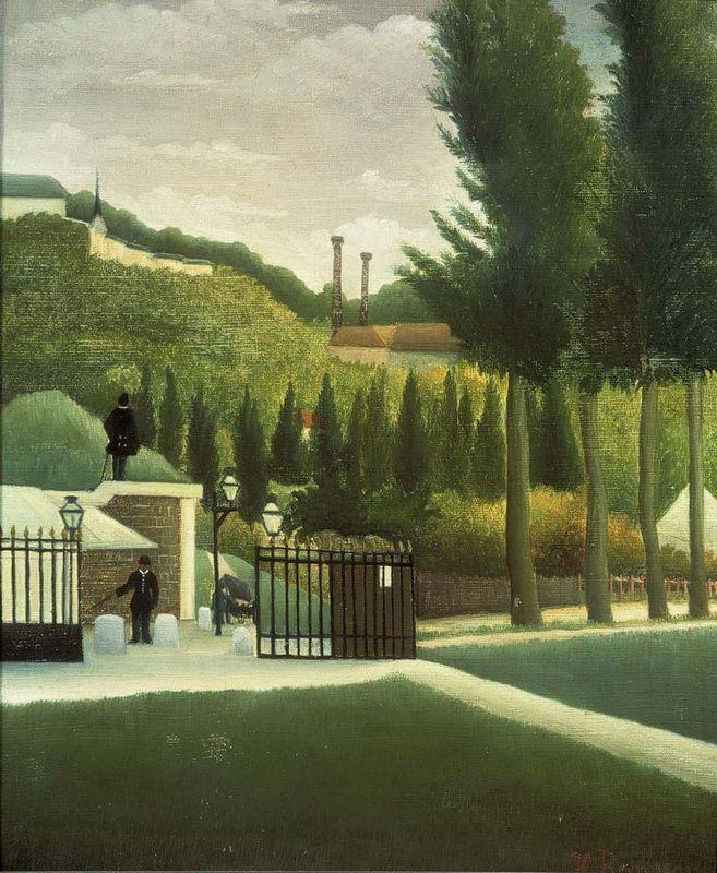The Toll House  - Henri Rousseau