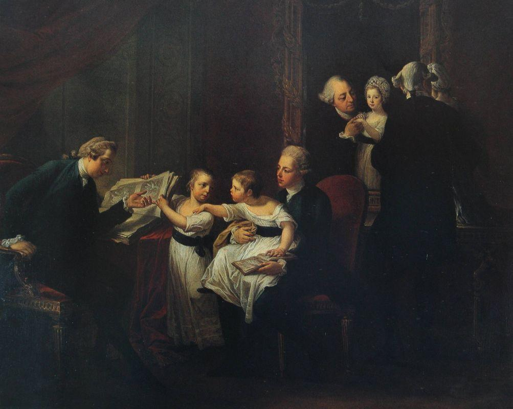 The Townshend Family - Angelica Kauffman