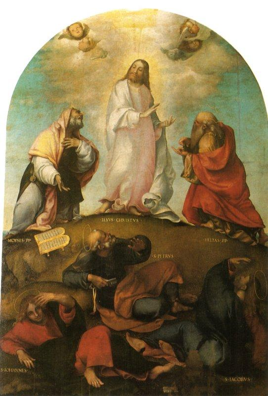 The Transfiguration of Christ - Lorenzo Lotto