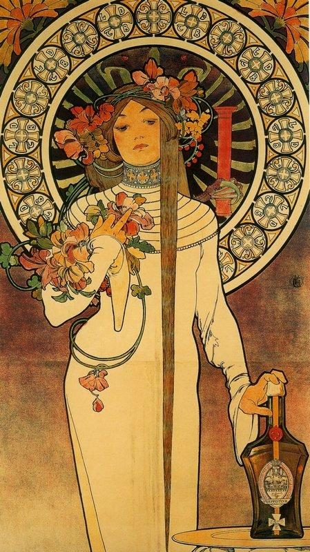 The Trappistine - Alphonse Mucha