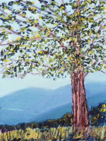 The Tree - Ronnie Landfield