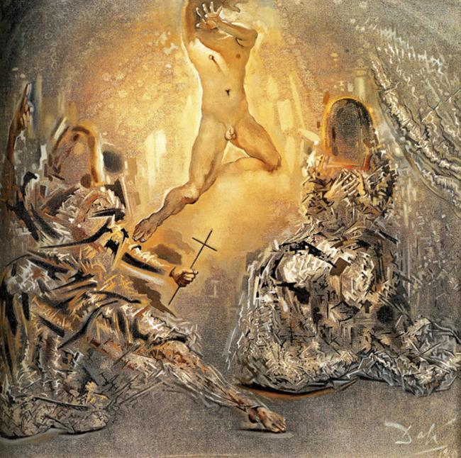 The Trinity - Salvador Dali
