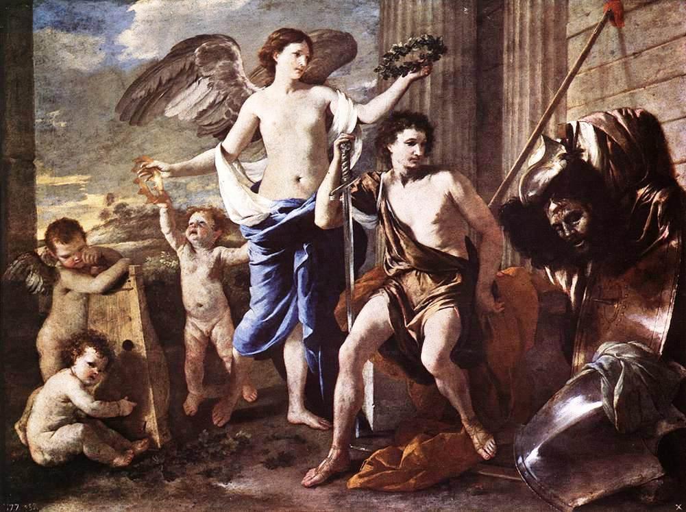 The Triumph of David - Nicolas Poussin
