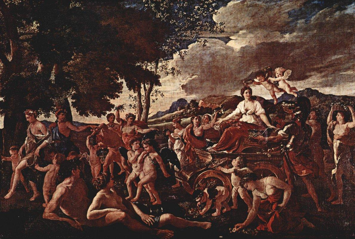 The Triumph of Flora - Nicolas Poussin