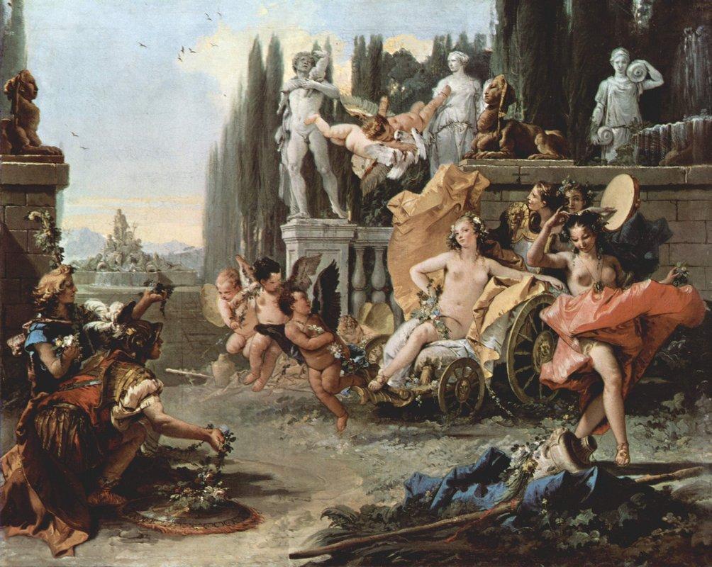 The Triumph of Flora - Giovanni Battista Tiepolo