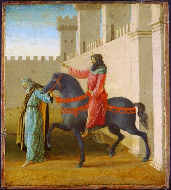 The Triumph of Mordecai - Filippo Lippi