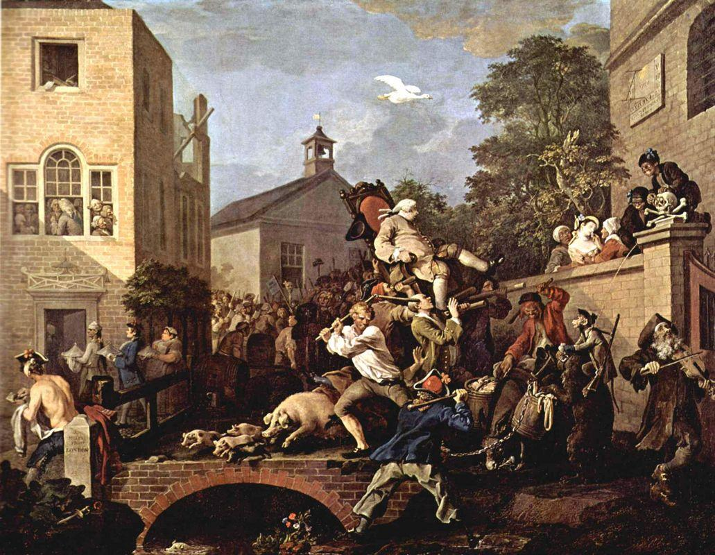 The triumph of Representatives - William Hogarth