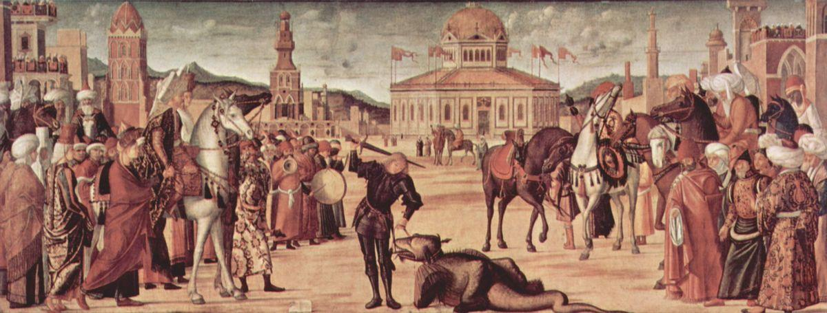 The Triumph of St. George - Vittore Carpaccio