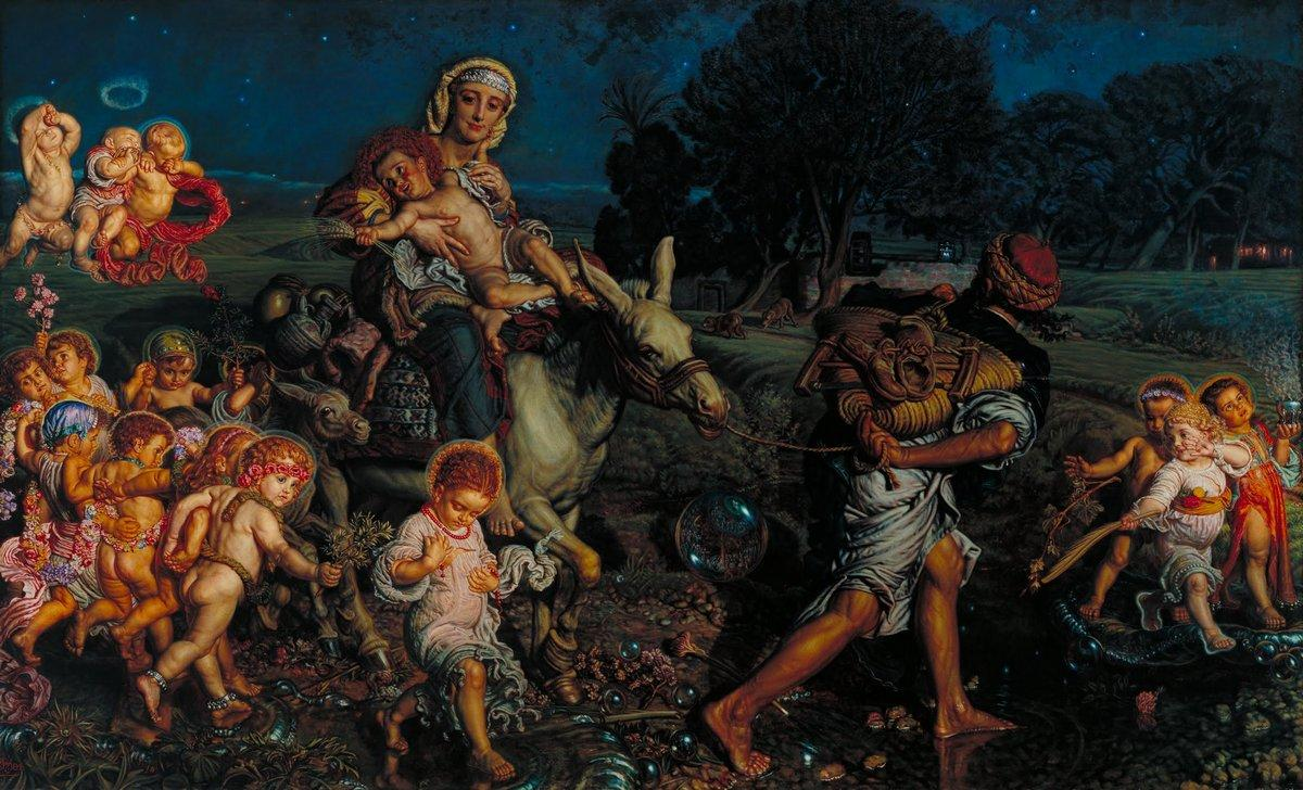 The Triumph of the Innocents - William Holman Hunt