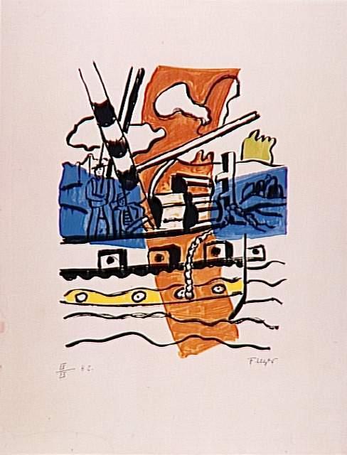 The tug - Fernand Leger