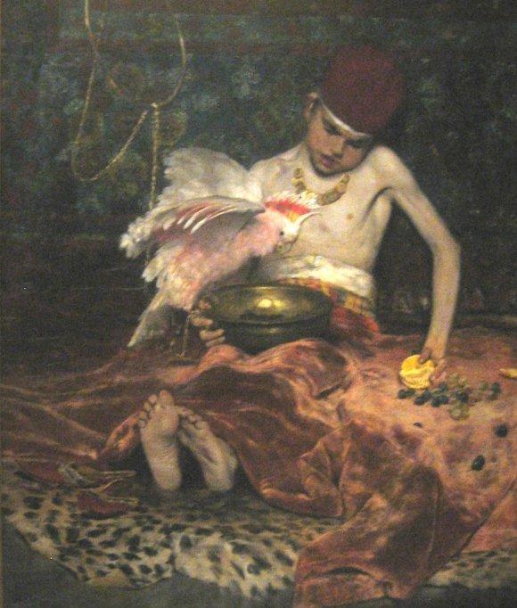 The Turkish Page - William Merritt Chase