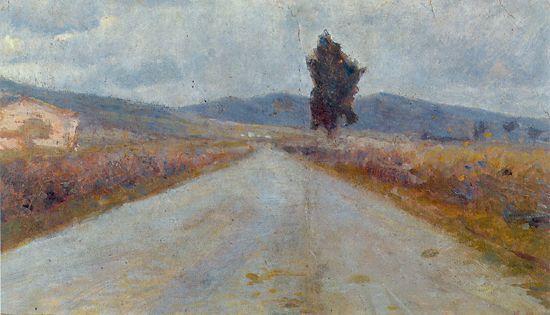 The Tuscan Road - Amedeo Modigliani