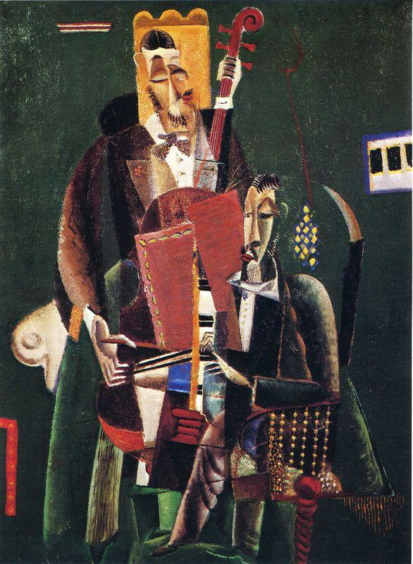 The Two Musicians - Max Weber