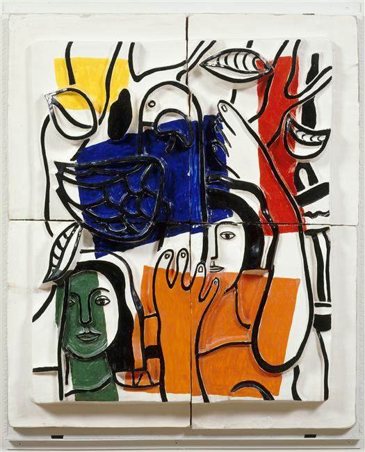 The two sailors - Fernand Leger