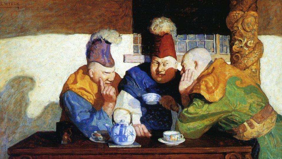 The Unwrit Dogma - N.C. Wyeth