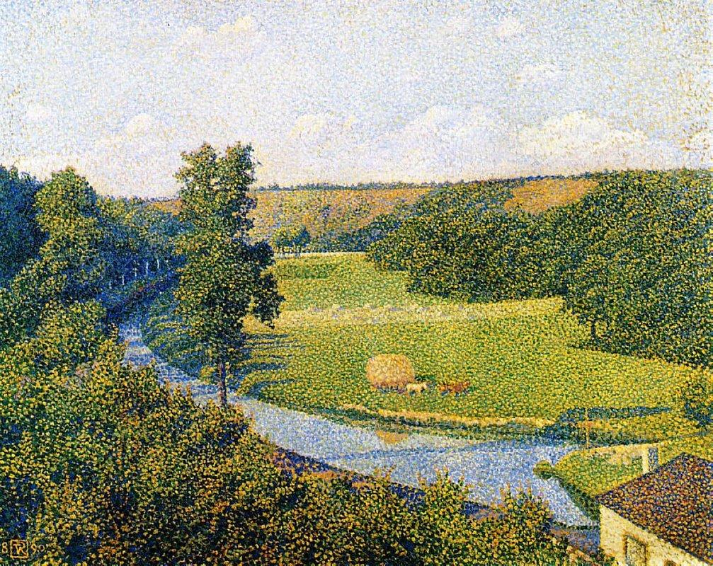 The Valley of the Sambre - Theo van Rysselberghe