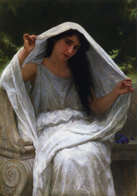 The Veil - William-Adolphe Bouguereau