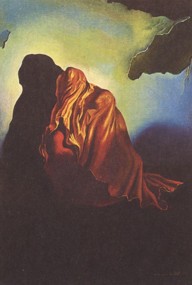 The Veiled Heart - Salvador Dali