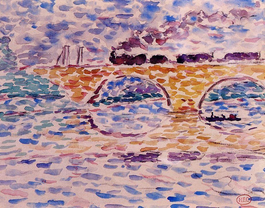 The viaduct - Fernand Leger