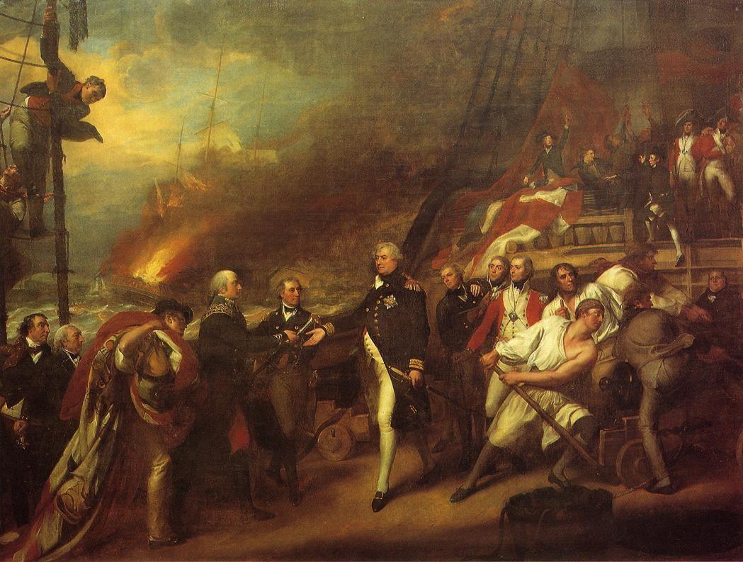 The Victory of Lord Duncan - John Singleton Copley