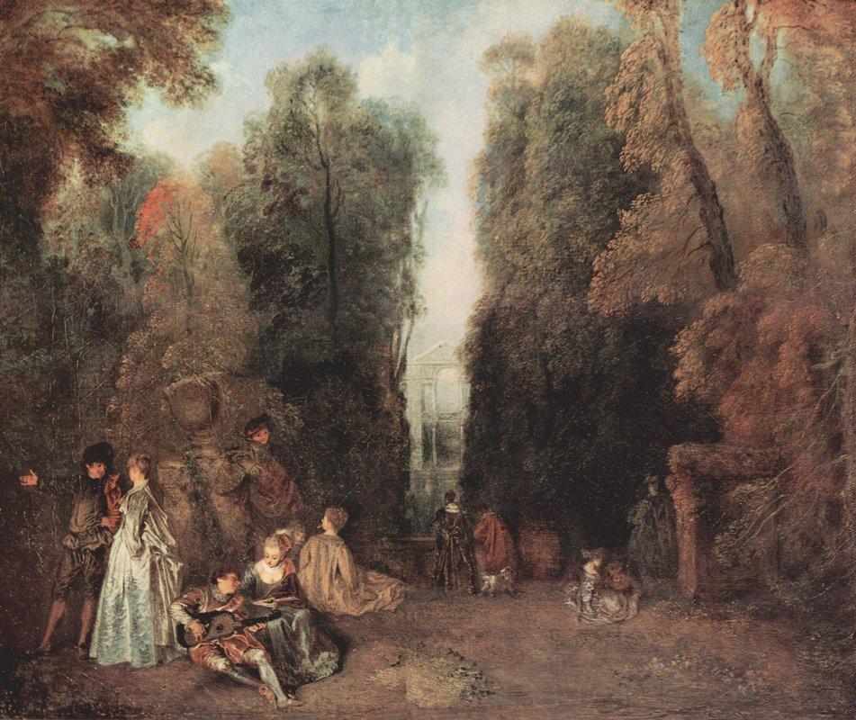 The view - Antoine Watteau