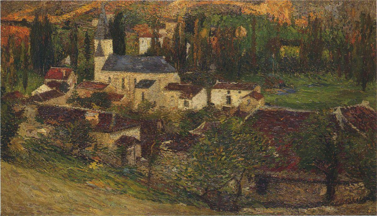 The Village among the trees - Henri Martin