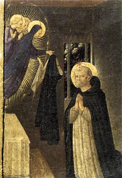 The Virgin Consigns the Habit to St. Dominic - Fra Angelico