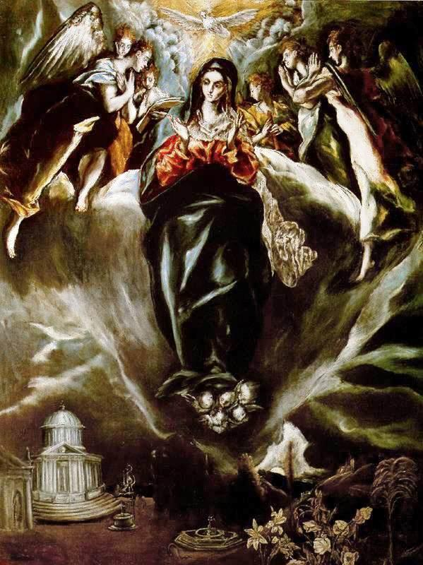 The Virgin of the Immaculate Conception - El Greco