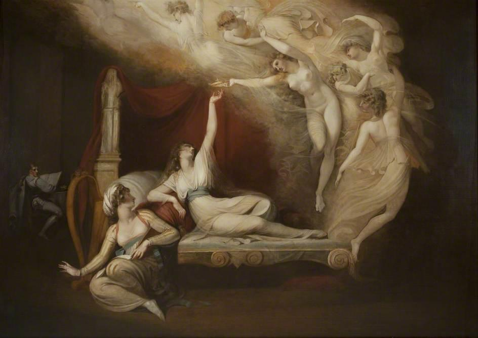 The Vision of Catherine of Aragon - Henry Fuseli