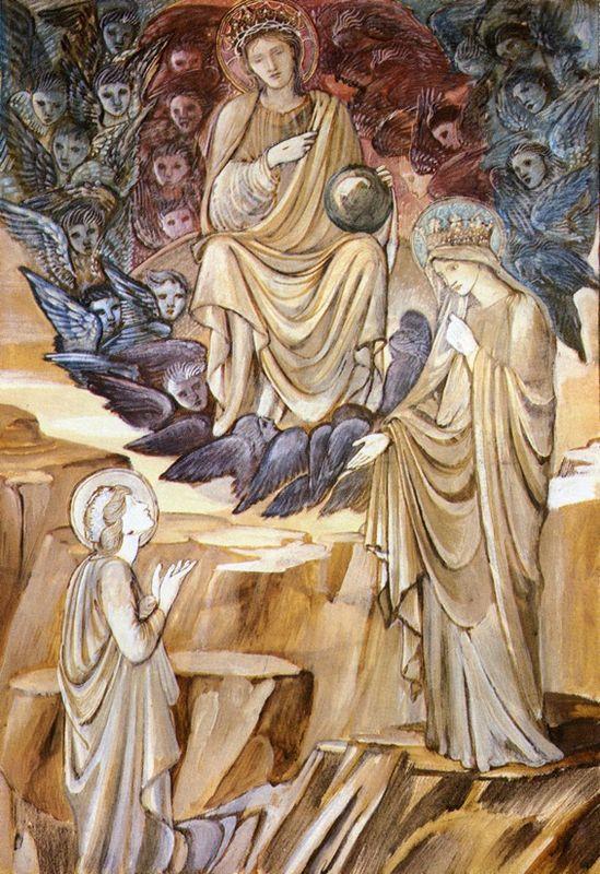 The Vision of Saint Catherine - Edward Burne-Jones