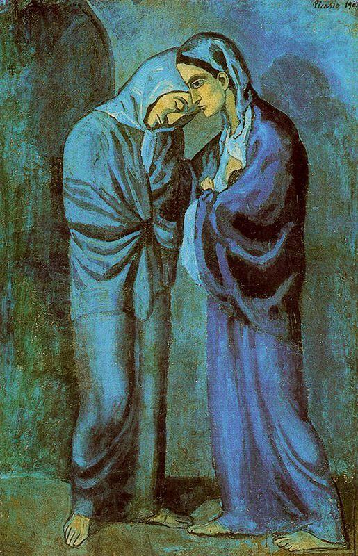 The Visit  (The two sisters) - Pablo Picasso