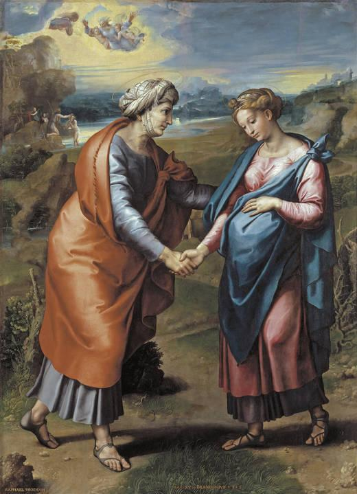 The Visitation - Raphael