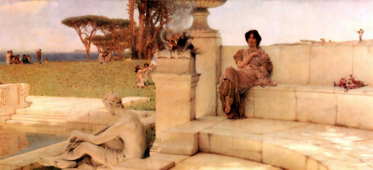 The Voice of Spring - Sir Lawrence Alma-Tadema