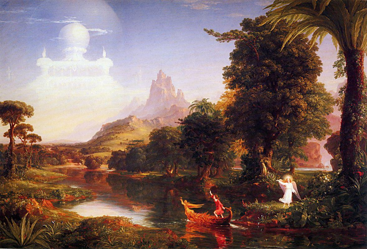 The Voyage of Life: Youth - Thomas Cole
