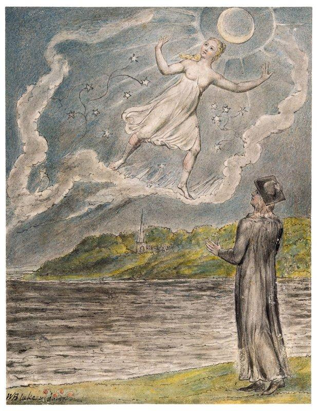 The Wandering Moon - William Blake