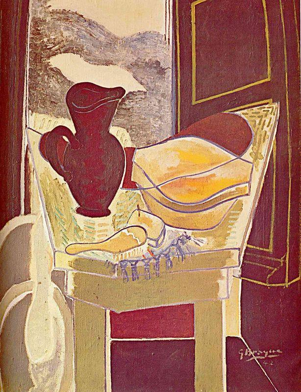 The wash stand - Georges Braque
