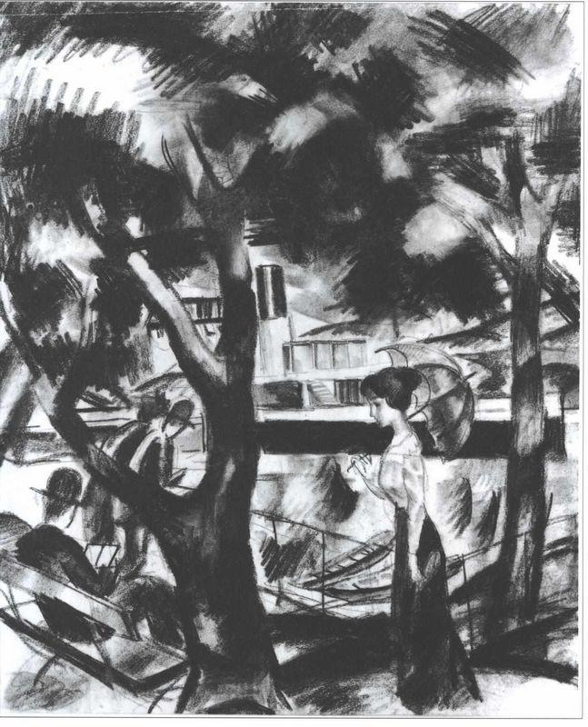 The way on the water - August Macke