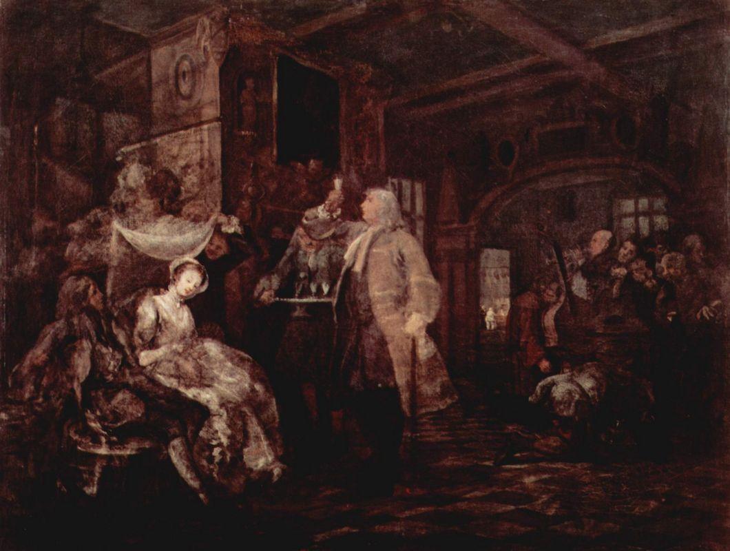 The Wedding Banquet - William Hogarth