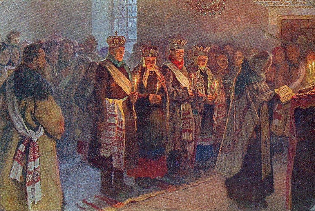 The Wedding - Nikolay Bogdanov-Belsky