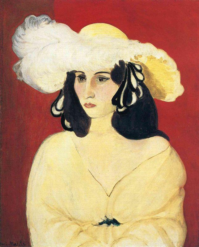 The White Feather  - Henri Matisse