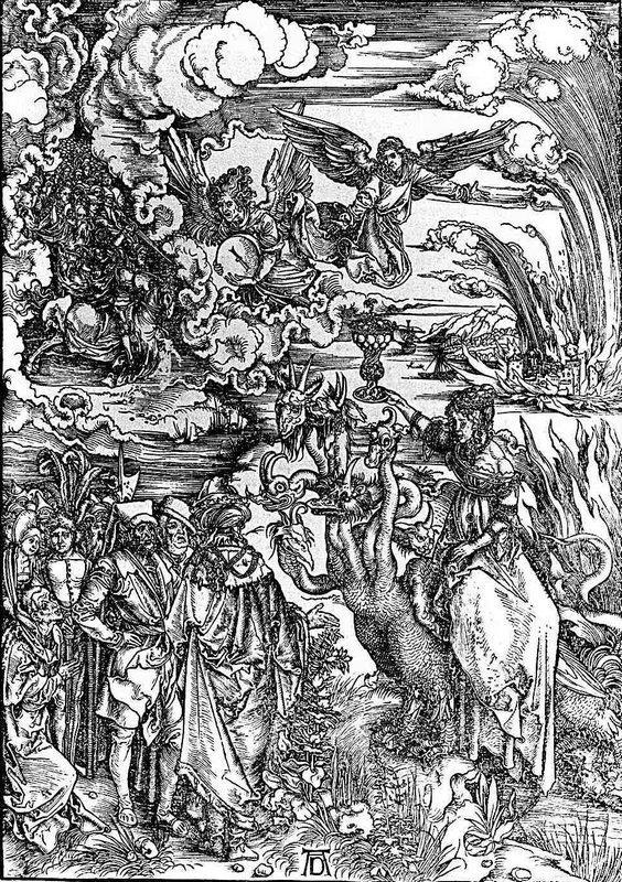 The Whore of Baylon - Albrecht Durer