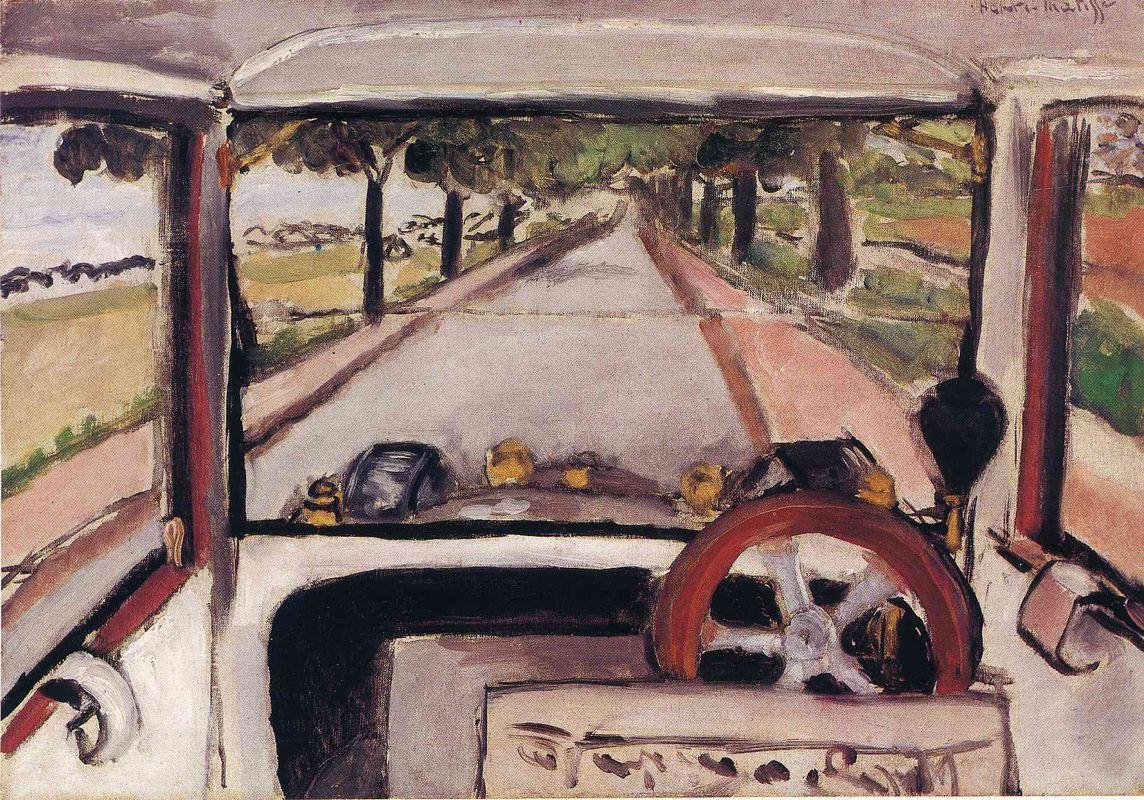 The Windshield - Henri Matisse