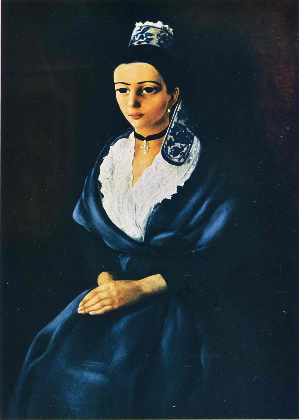 The woman from Arles - Moise Kisling