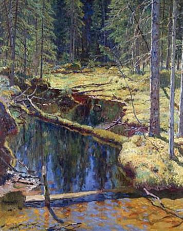 The Wood - Nikolay Bogdanov-Belsky