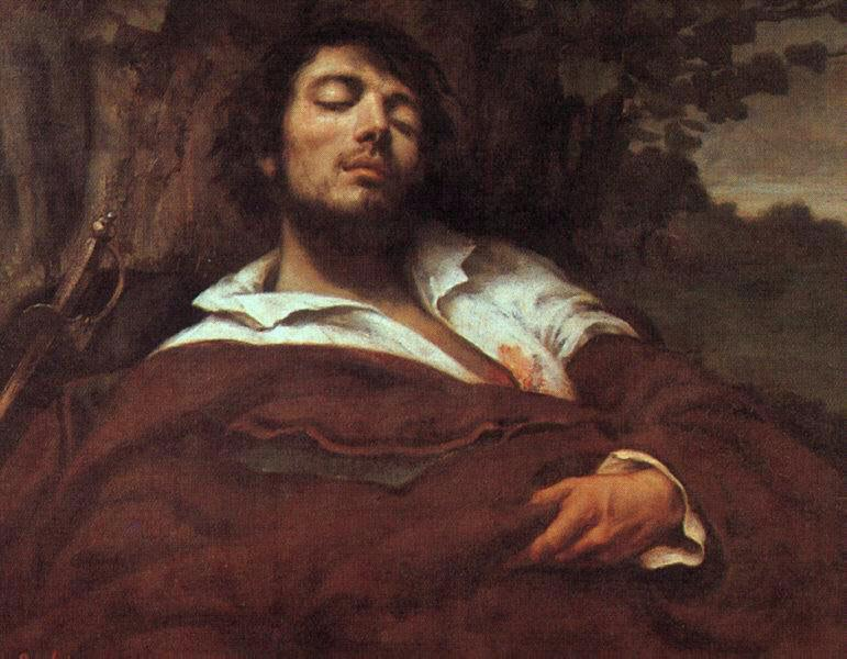The Wounded Man - Gustave Courbet