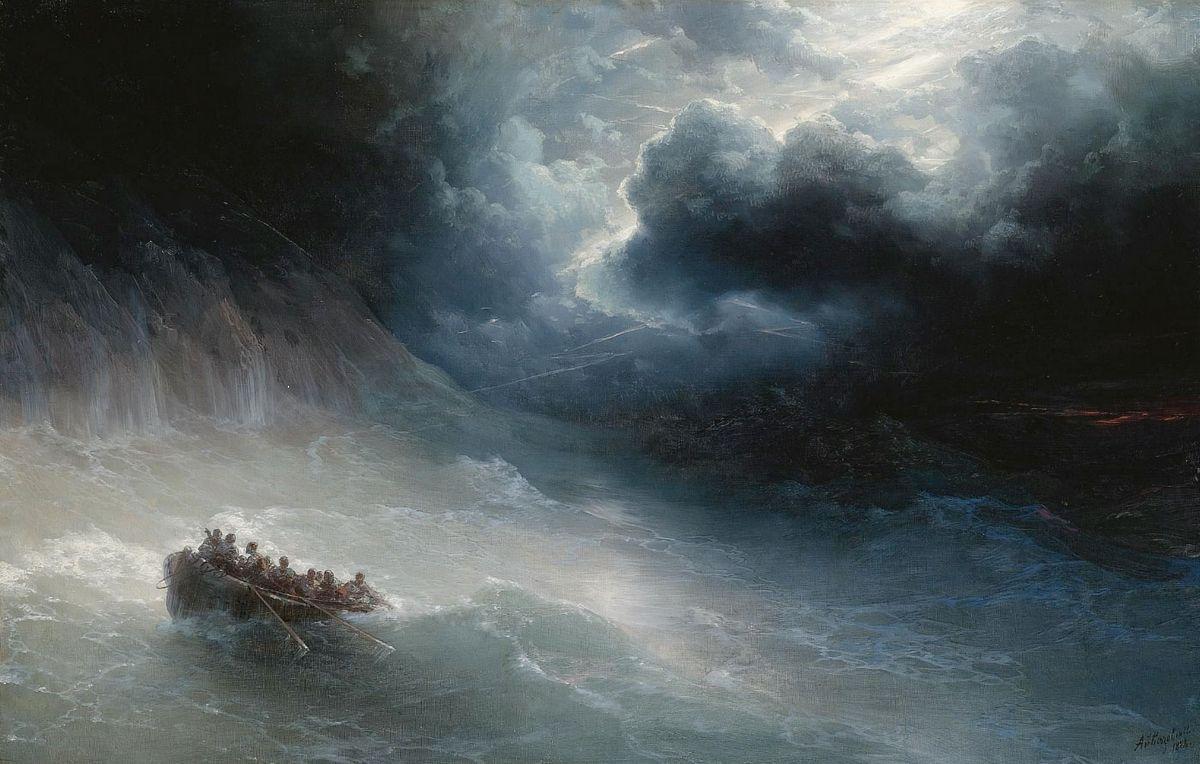The Wrath Of The Seas - Ivan Aivazovsky