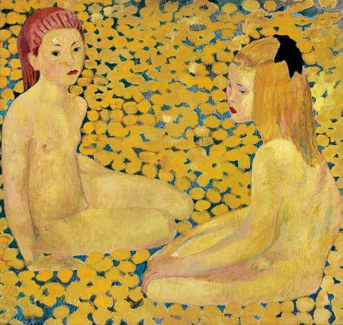 The Yellow Girls - Cuno Amiet