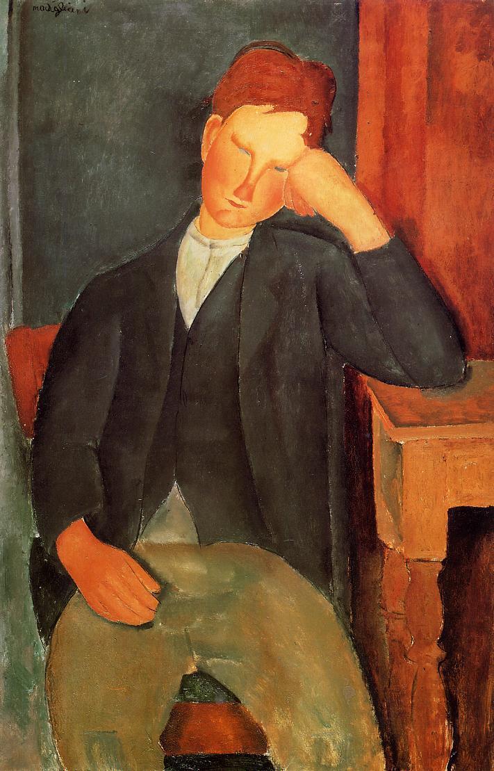 The young apprentice - Amedeo Modigliani