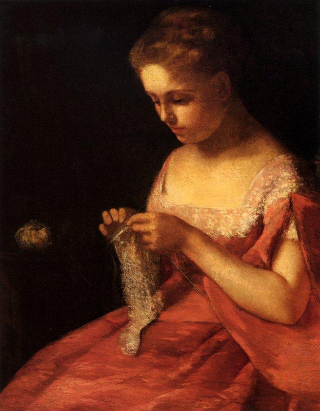 The Young Bride - Mary Cassatt