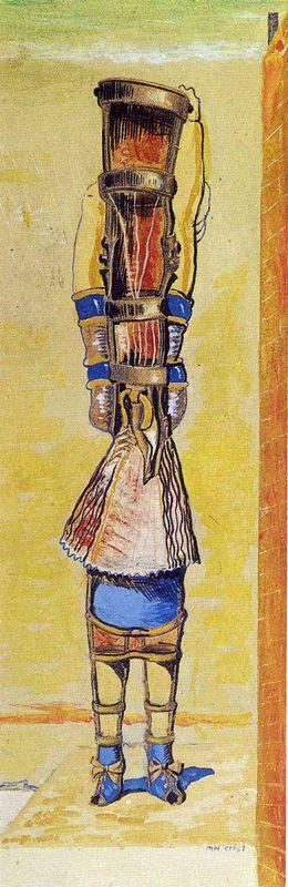 The Young Chimaera - Max Ernst